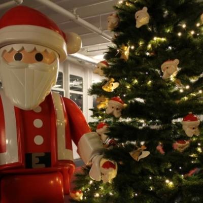 ss Rotterdam in kerstsfeer