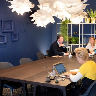 Co Working Space Lobby - WestCord Hotel Delft